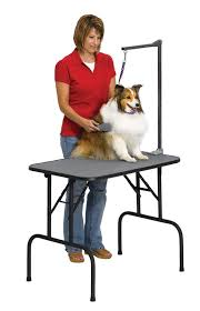 go pet club grooming table electric motor midwest homes for pets deluxe grooming table arm reviews wayfair