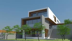 modern sloping house plans gallery with home for building on