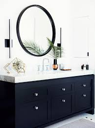 Black Bathroom Vanity With Sink by Before U0026 After A Must See Bathroom Makeover Painted Vanity