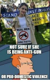 Not Sure Memes - stand inst injusi ace assion ty real men use fists not sure if she