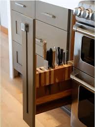 best way to store kitchen knives this cupboard hides a genius way to store knives kitchn