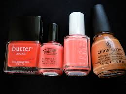 comparison color club clambake coral something polished