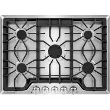 Sealed Burner Gas Cooktop Frigidaire Gallery 30 In Gas Cooktop In Stainless Steel With 5