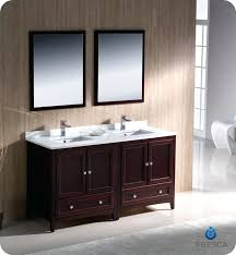 60 Bathroom Vanity Double Sink White by Vanities Ariel By Seacliff Summit 60 Double Sink Bathroom Vanity
