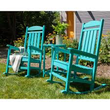 Recycled Plastic Rocking Chairs Polywood皰 Presidential Recycled Plastic Rocking Chair Hayneedle