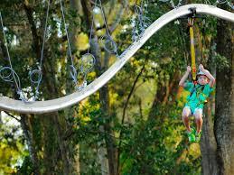 backyard zipline kits home outdoor decoration