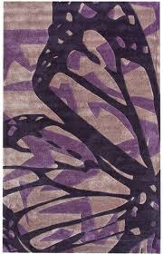 Area Rugs With Purple Rugs Usa Keno Butterfly Purple Rug Rugs Usa Summer Sale Up To 80