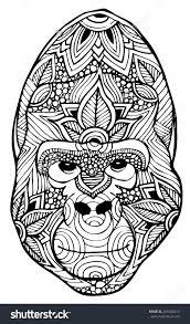 coloring page of gorilla gorilla coloring page bookmontenegro me