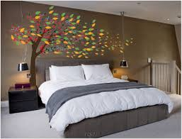 cherry blossom home decor tree wall painting diy room decor for teens kids design ideas ikea