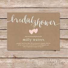 rustic bridal shower invitations rustic bridal shower invitation bridal shower invitation