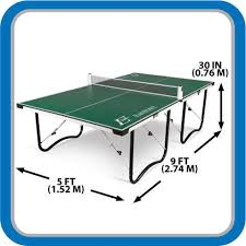 Table Tennis Dimensions Creative Of Folding Table Tennis Table Lion Sports 5 Folding