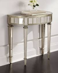 Demilune Console Table Demilune Console Table Pewter
