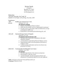 psychology resume template sle resume physical therapist psychology resume template