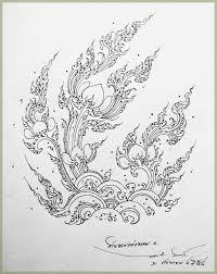 pin by balloon olu on ลายไทย pinterest thai art drawings and