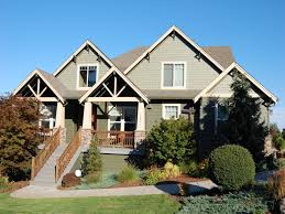 craftsman farmhouse exterior craftsman style homes exterior design with curved roof