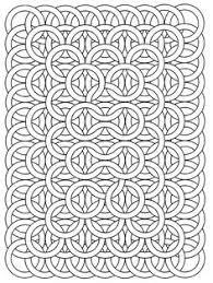 free coloring page coloring op art jean larcher 15 an op art