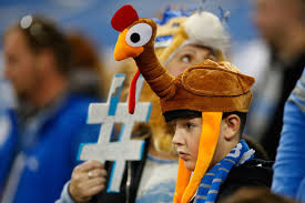 how the detroit lions football became a thanksgiving
