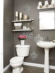bathroom wall decor ideas a bath and a half five smart ideas for use of your half