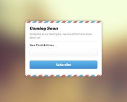 create attractive coming soon template with css 3d and javascript