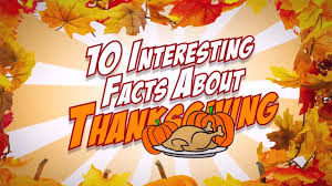 10 interesting facts about thanksgiving i bet you didn t