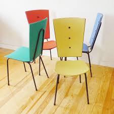 chaises es 50 4 chaise design jacques hitier vintage ées 50 60 1950 en skai
