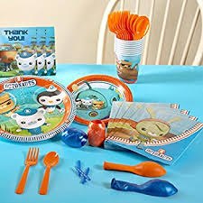 octonauts party supplies the octonauts party supplies party pack for 8 toys