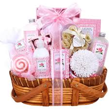 spa baskets petals spa gift basket bath gift sets beauty health