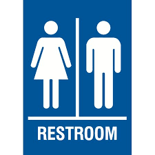 custom men and women bathroom signs view a ideas property