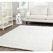Off White Rug Flooring Wondrous White Shag Rug Very Fluffy For Your Home