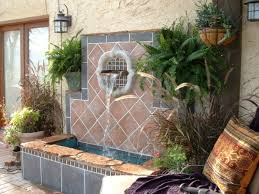 Bedroom Wall Fountains Outdoor Wall Fountain Designs Outdoor Garden Wall Fountains Design