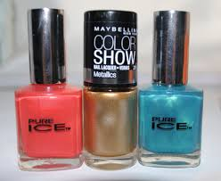 haul review pure ice maybelline color show nail lacquer