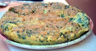 cuisiner blettes marmiton la trouchia omelette aux blettes