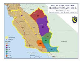 Tomales Bay Map California Condor Range Hunting Legal Labrador