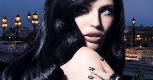 saphire black hair black hair red lips بحث google long blond hair pinterest