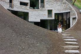 mountainside house plans underground home designs swiss mountain house rocks
