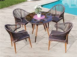 Outdoor Rattan Dining Chairs Outdoor Dining Sets Kr Outdoor Furniture