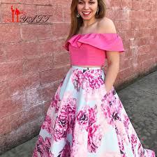 plus size floral print prom dresses best dressed