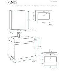 bathroom vanity cabinet dimensions s standard bathroom vanity