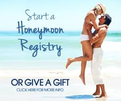 vacation wedding registry honeymoon registry