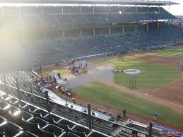 Chicago Cubs Seat Map by Wrigley Field Section 431 Chicago Cubs Rateyourseats Com