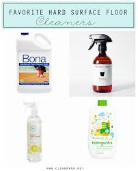 Cleaning Laminate Wood Floors With Vinegar The Best Way To Clean And Care For Hard Surface Floors Clean Mama