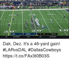 Rams Memes - rams 21 o cowboys 21 o 1st 1455 13 1st 10 nfl fox sports mlb nfl