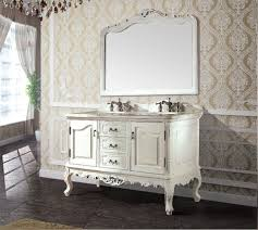high quality antique bathroom cabinet with mirror and sink classic