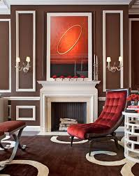 Rugs With Red Accents Showhouse Rooms With Red Accents Traditional Home