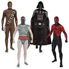 Body Halloween Costumes Star Wars 2nd Skin Body Suit Costume Zentai Stretch Halloween