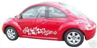Vw Beetle Vase Accessories Vw Volkswagon Bug Beetle Flowers Decal Accessories Http Www Ebay