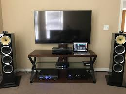 home theater system setup my setup thinking of switching to oled soon also want to add an