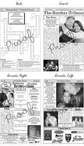 newspaper wedding programs how awesome are these wedding programs loveee printable