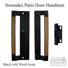 8 Patio Doors Sliding Patio Door Handle 6 5 8 Holes Black