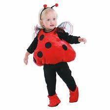 Infant Toddler Halloween Costumes Totally Ghoul Ladybug Vest Baby Toddler Halloween Costume 2t Ebay